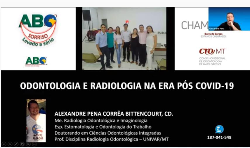 CHAME O CRO - Odontologia e Radiologia na era pós COVID-19