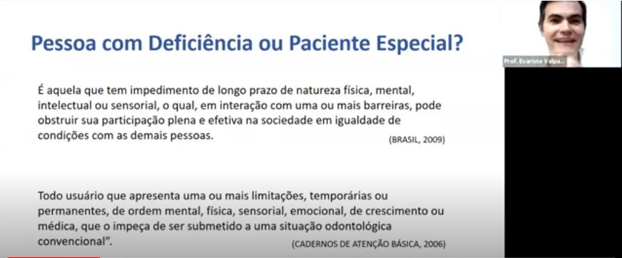 CHAME O CRO - Atendimento de Pacientes Especiais: Apresentando e Discutindo Casos Clínicos