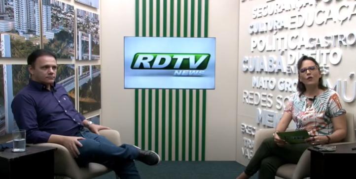 Entrevista com Dr. Sandro Stefanini. Presidente do Conselho Regional de Odontologia de Mato Grosso.