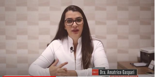 Depoimento da Dra. Amatrice Gaspari