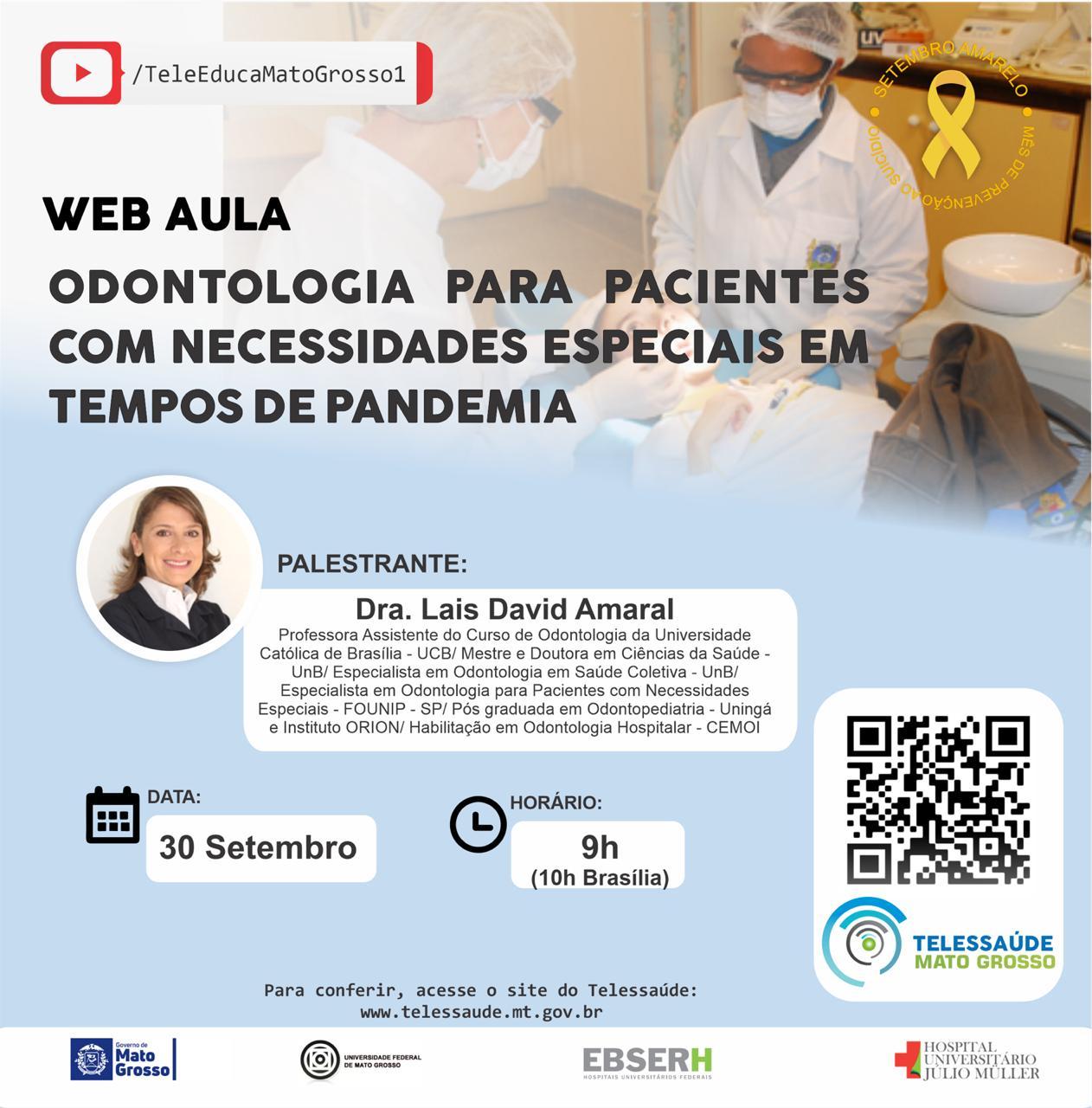 Odontologia para pacientes com necessidades Especiais.
