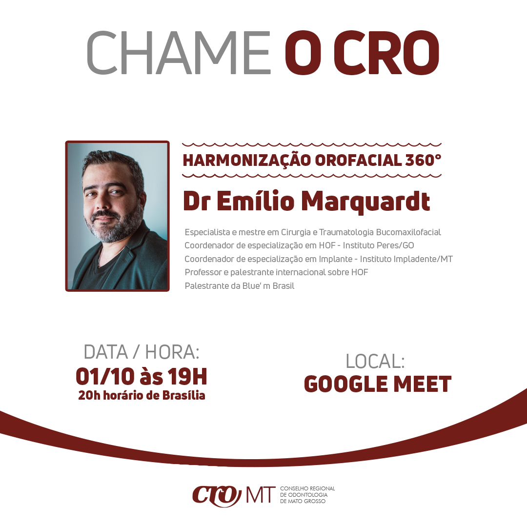CHAME O CRO - Harmonização Orofacial  360°