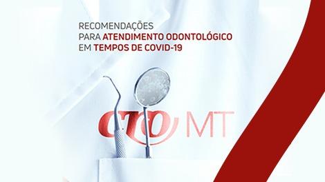 CRO-MT lança cartilha com cuidados em meio ao coronavírus
