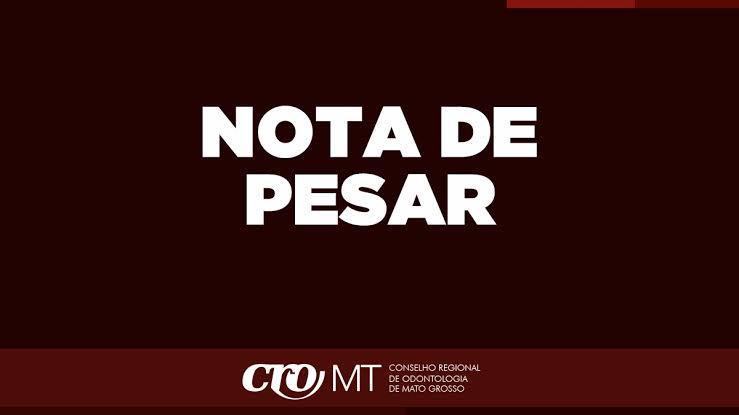 Nota de Pesar - Pedro Camargo de Oliveira