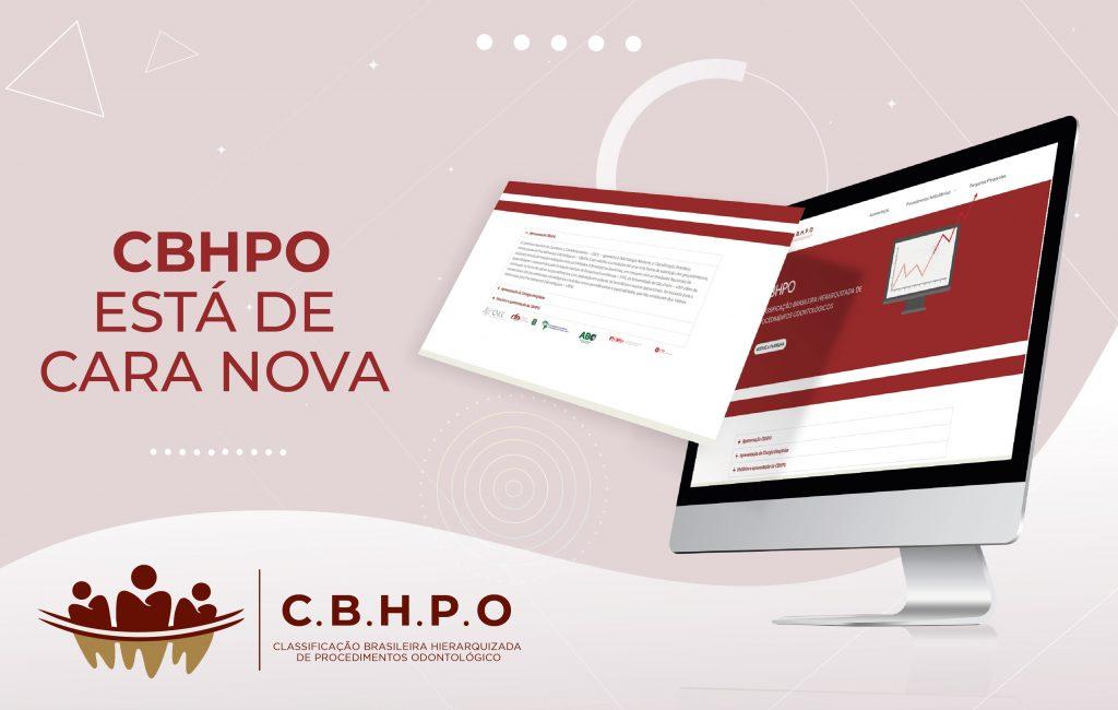 CBHPO está com novo site para profissionais