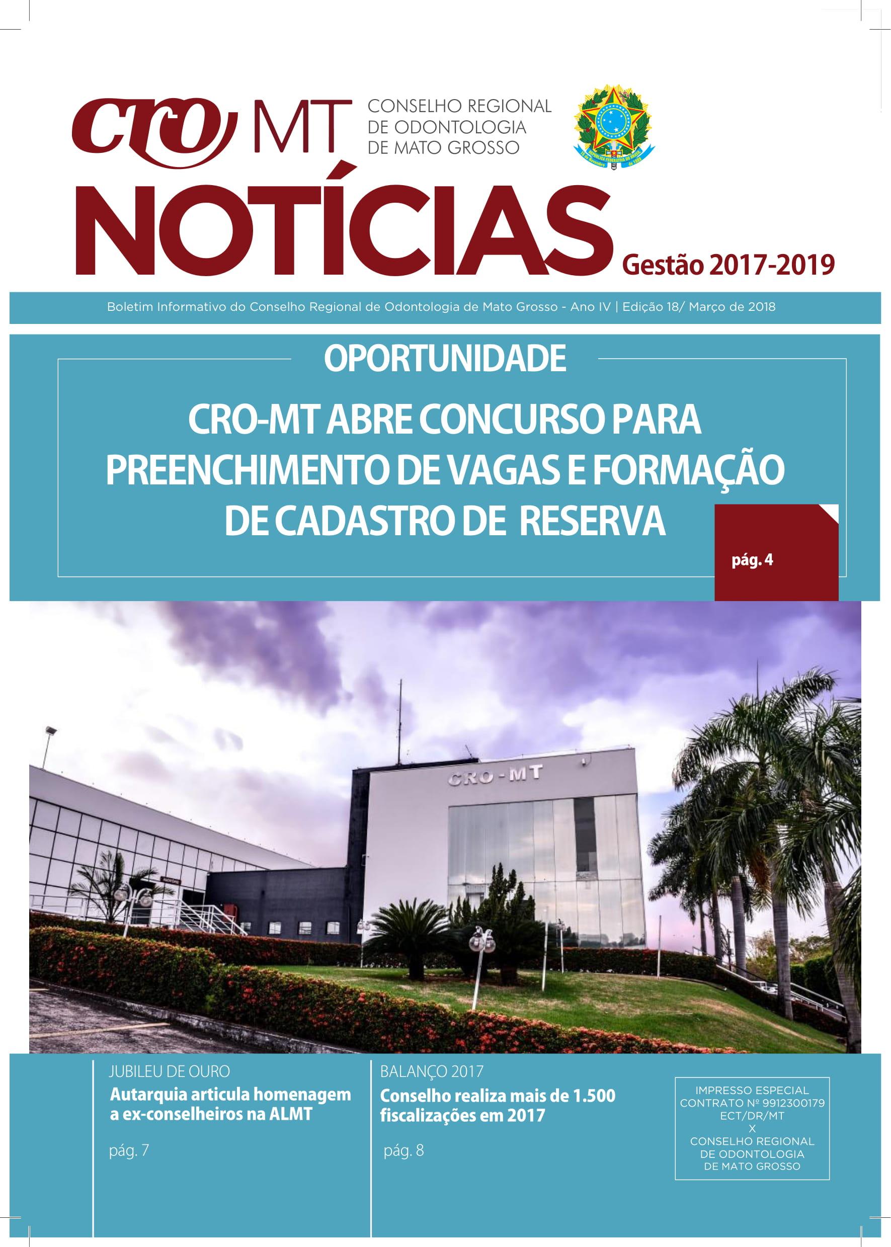REVISTA CRO-MT Ed. 18