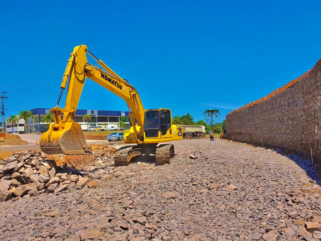 Com a VF Gomes, é mais infraestrutura! Infraestrutura de qualidade!